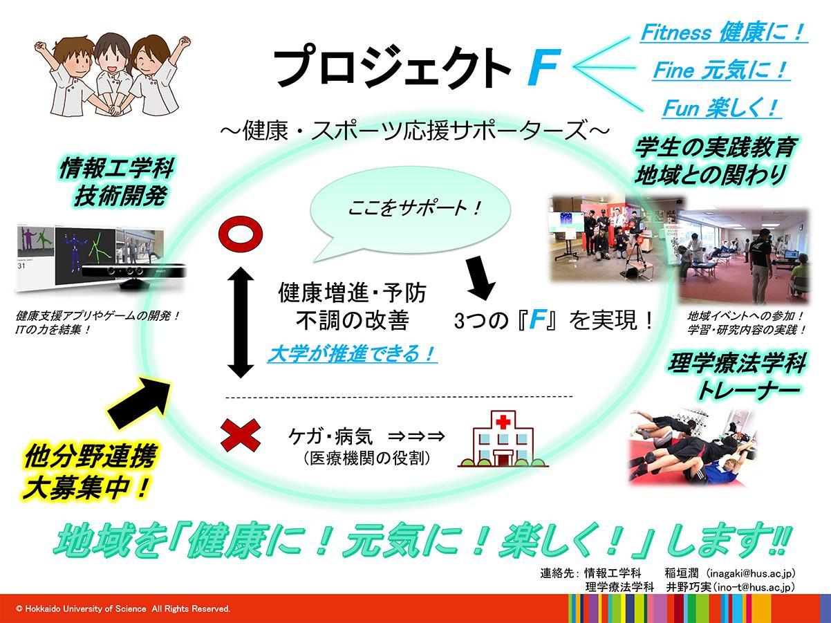 プロジェクトF~健康・スポーツ応援サポーターズ~